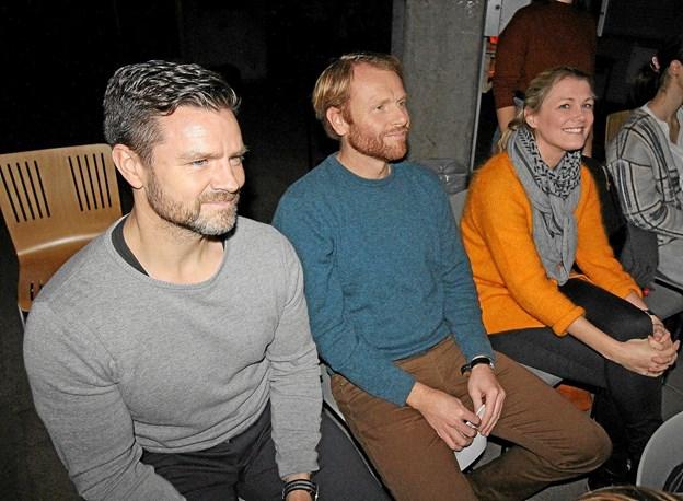 Juryen bestod af Ken Erik Ulrik Nielsen, Kristian Jørgensen og Christina Bloch Hougaard. Foto: Jørgen Ingvardsen Jørgen Ingvardsen