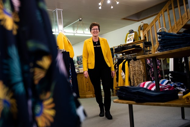 Hos Thea forhandler tøj til kvinder og har en stor afdeling med børnetøj. Foto: Diana Holm @ Diana Holm