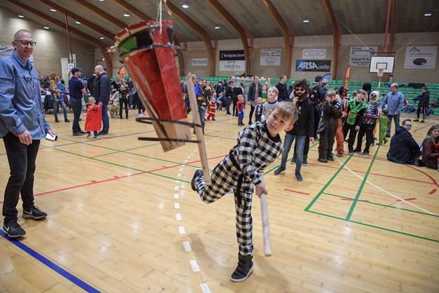 Arrangementet var som altid tilløbsstykke for både små og store børn i Klarup. Foto: Henrik Louis HENRIK LOUIS