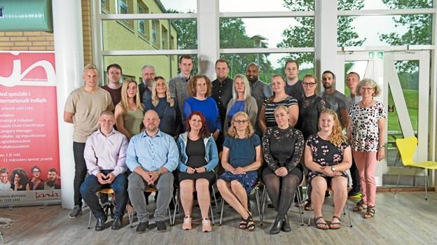 logistik økonomer fra Erhvervsakademi Dania, Hobro 2019 Annette Boe Ostergaard