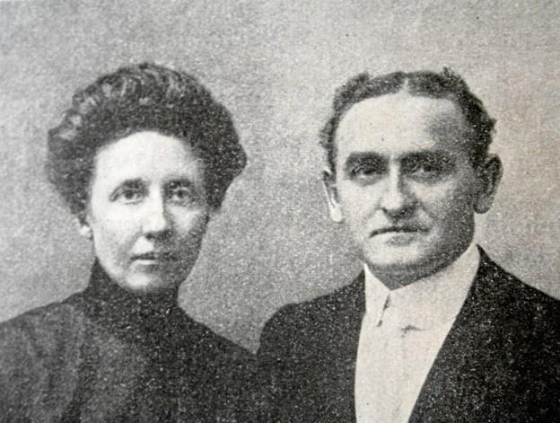 Mogens og Eline Uhrenholt. Privatfoto