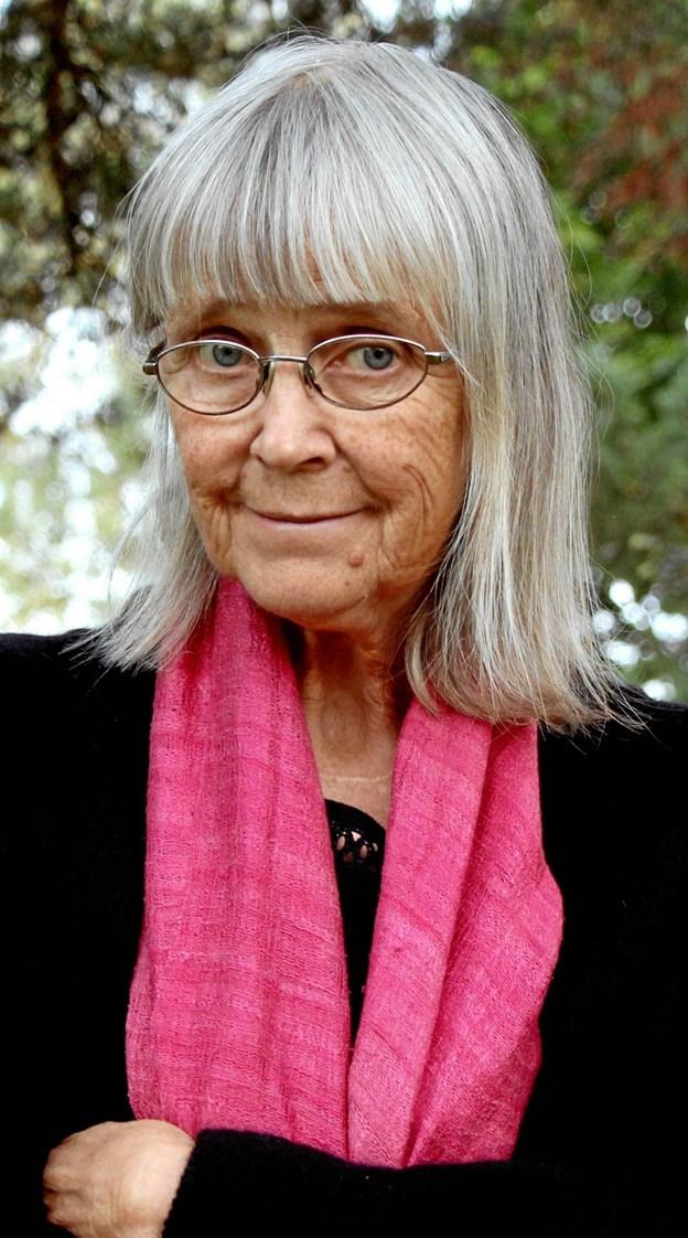Norske Britt Karin Larsen er en af de forfattere, man kan møde på Ord i Nord i Skørping i år. Hendes serie af bøger om skovfinnerne er blevet utrolig populære. PR-foto