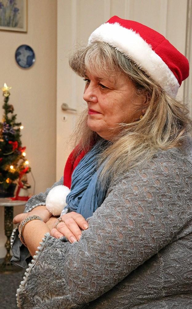 Jonna Thingvad har tid til at lytte, erfarer de mennesker, der møder hende på hendes vej. Arkivfoto: Ole Geerthsen.