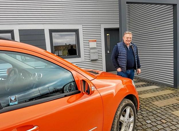 Kristian Rytter flytter sin virksomhed. Foto: Karl Erik Hansen