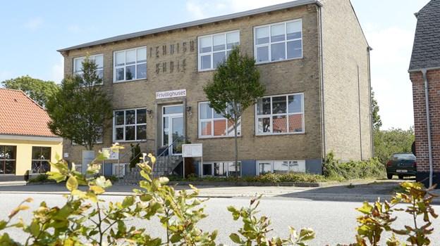 Møderne finder sted i Frivillighuset i Pandrup. Arkivfoto