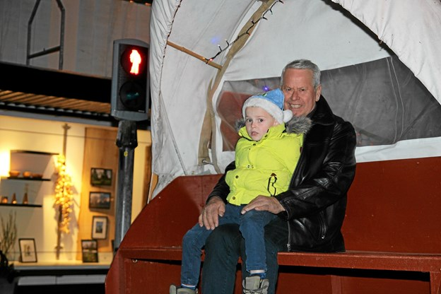 Der var fint udsyn fra vognen. Foto: Flemming Dahl Jensen Flemming Dahl Jensen
