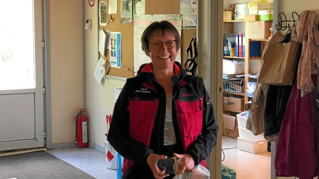 Her er det vinderen af Rally Champion Rikke Svensson fra Brønderslev. Foto: Ole Torp Ole Torp