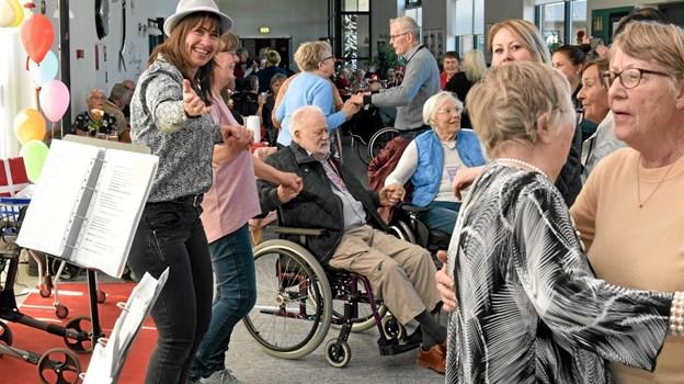 Ane Møller byder op til dans. Foto: Niels Helver Niels Helver