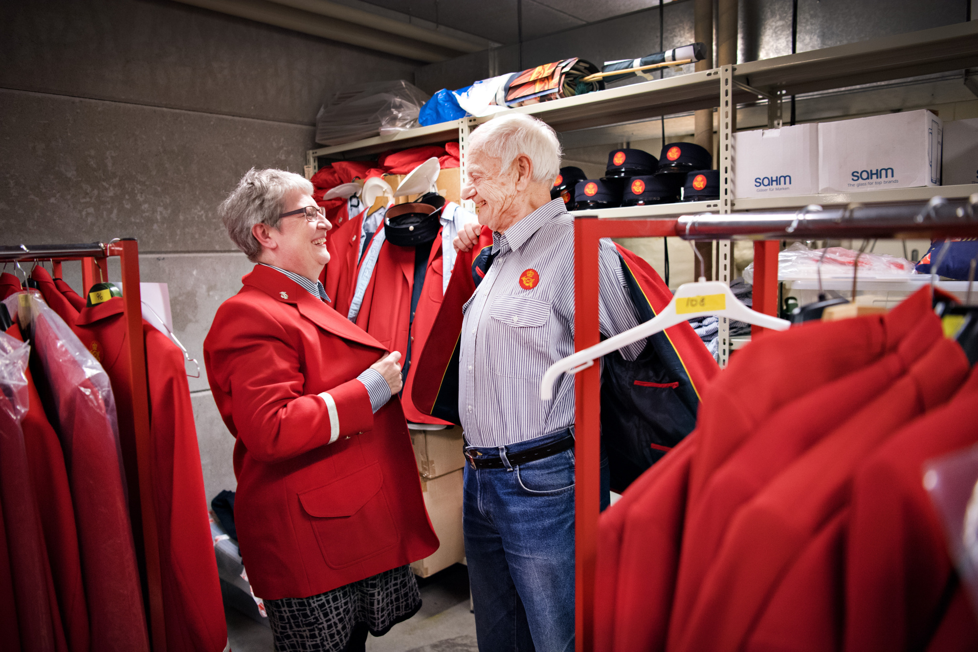 83-årige Gert har været med i postorkester siden 1955: - Vi beholder uniformen, så længe vi må