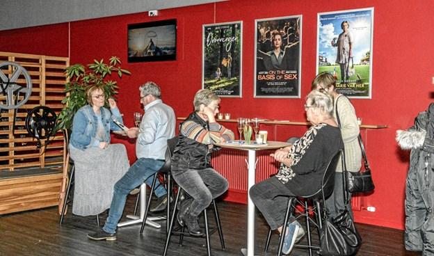 Løgstør Bio havde lørdag aften La Bohème på programmet i anledning af kulturugen AHA.l Foto: Mogens Lynge