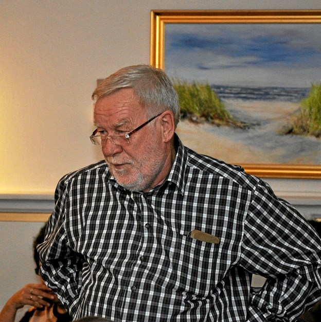 Poul Erik Andreasen (S) fik ikke svar på, om der var et alternativ til grundvandsvarmepumpen.