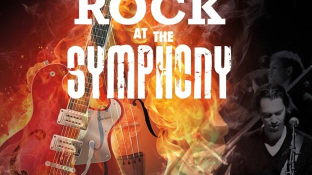 Symfoniorkestret flirter igen med rockgenren, når Rock at the Symphony vender tilbage til juni. PR-foto
