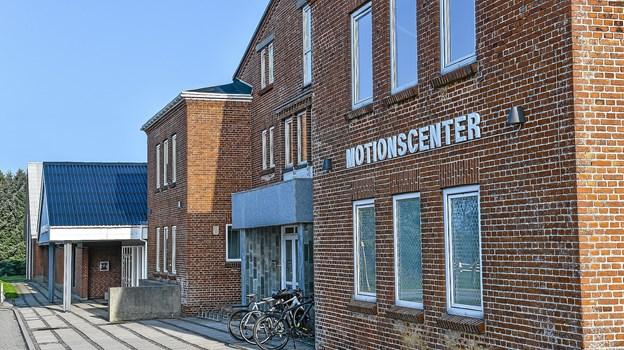 """Hanstholm Hallerne trænger alvorligt til en modernisering. Et """"Brainstorm-møde"""" om aftenen 12. september er første skridt på vejen til et nyt kultur- og idrætscenter.Foto: Ole Iversen"""