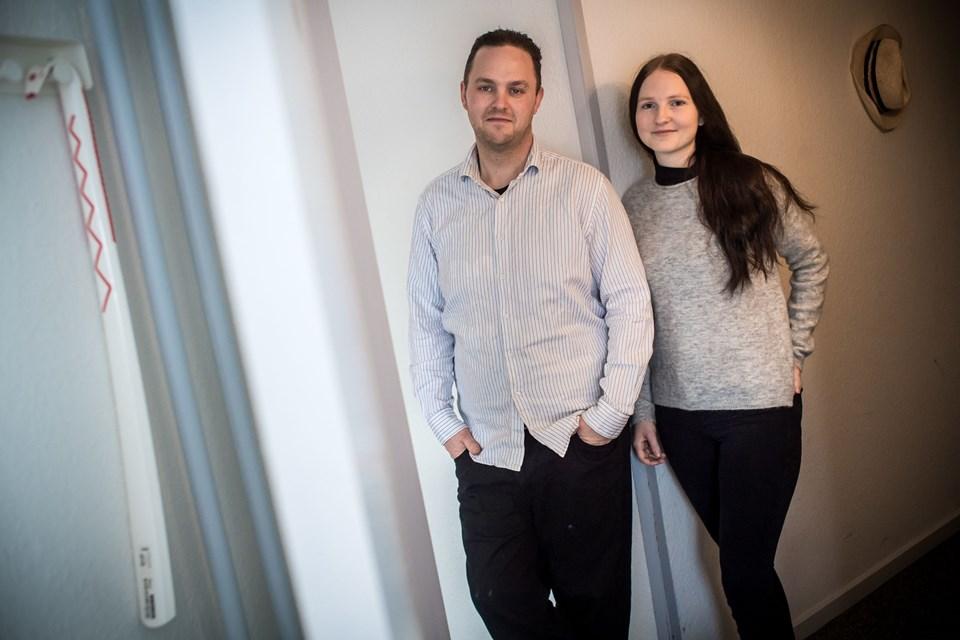 Anders Sønderup og Martin Damgård