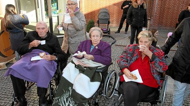 Der var også boler til plejehjems beboerne. Foto: Flemming Dahl Jensen
