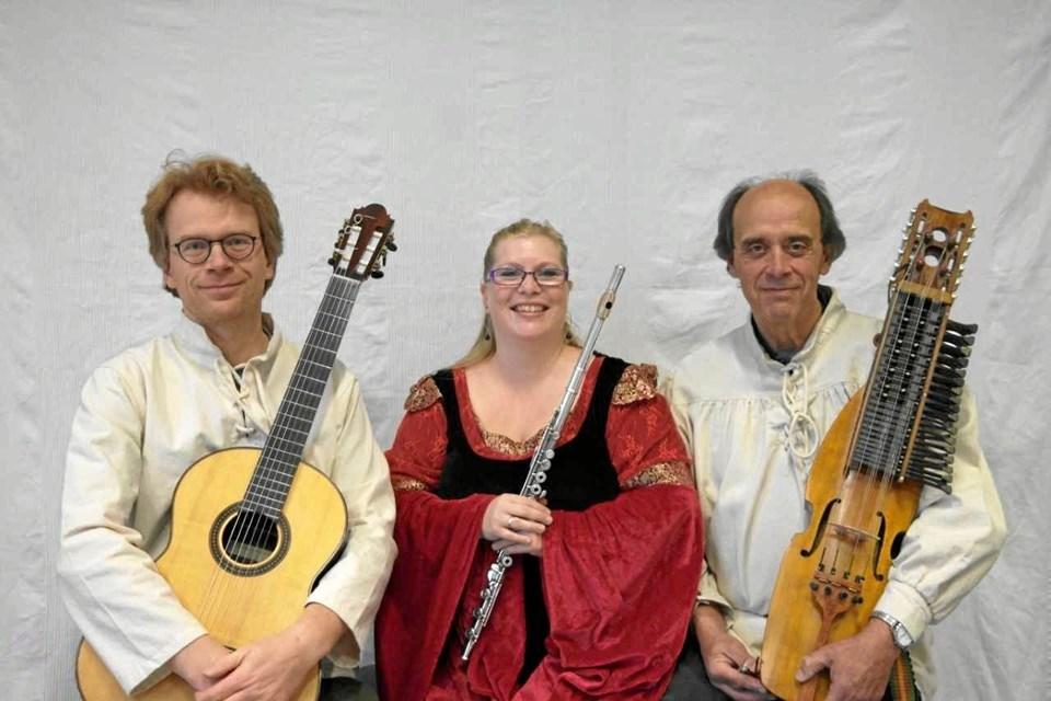 Trio Gente giver koncert i Tornby Kirke onsdag 17. juli.