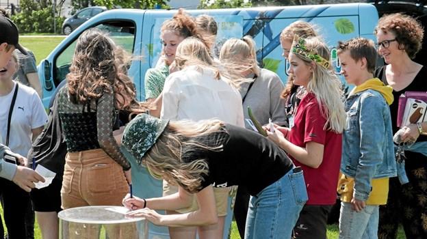 Fårup karavanen var også på besøg, med aktiviteter for børnene og spændende konkurrencer for alle. Foto: Peter Jørgensen Peter Jørgensen