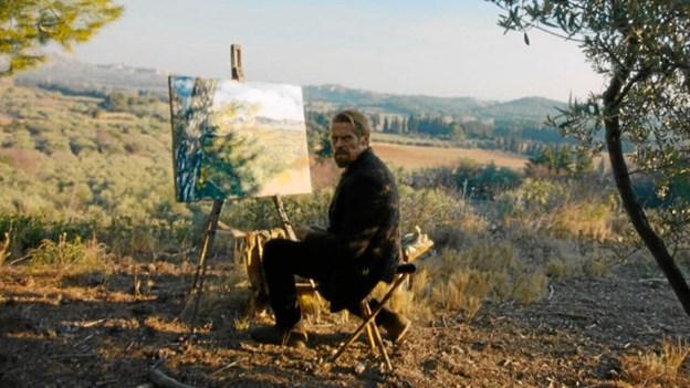 Filmen går tæt på Van Gogh.Pressefoto