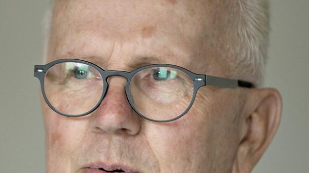 Formand for Borger9700, Jens Tofting, fortæller, der kommer særligt fokus på fire af verdensmålene, og der vil som noget nyt være et kommunalt topmøde første dag i Bæredygtighedsfestivalen.Arkivfoto Henrik Louis HENRIK LOUIS