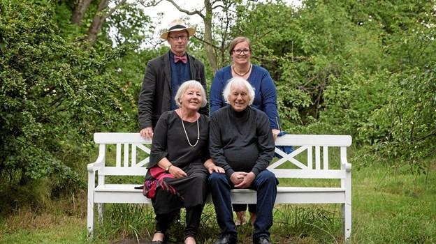 Kvartetten består fortsat af ægteparrene Ann-Marie Gabrielsson og Jesper Hegaard samt Birgit og Poul Bernth.