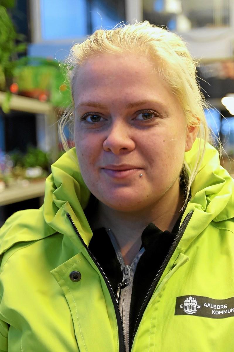 Sara Larsen: - Jeg troede faktisk, det var lovpligtigt. Det burde det helt klart være. Foto: Allan Mortensen