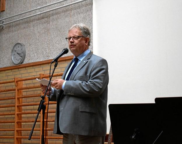 Borgmester Mogens Gade tog ordet.