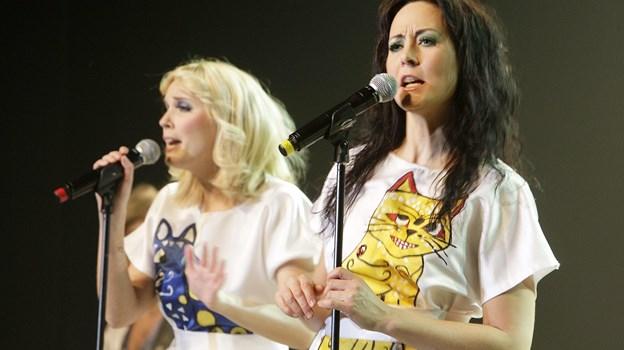 """ABBA """"Arrival from Sweden"""" kommer alligevel ikke til at optræde i Fruerlundparken i Øster Hurup lørdag 3. august. Arrangementet er aflyst. Arkivfoto"""