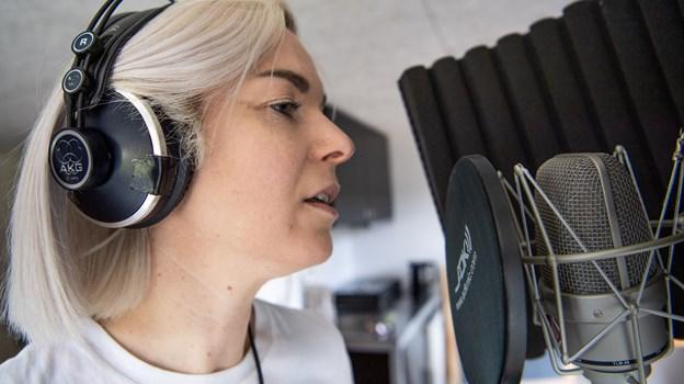 Vibeke Falden udgav ny single for nylig, genren er elektronisk pop på engelsk. Foto: Teis Markfoged