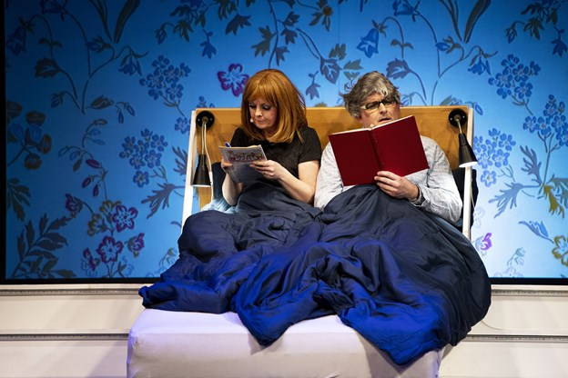 Sidste kapitel om ægteparret, der har glemt, hvad de en gang også lavede i sengen. Foto:  Laura Guldhammer