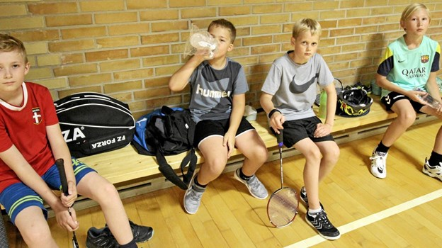 Det var hård træning i fire timer om dagen, men der var også tid til pauser og forfriskninger. Foto: Jørgen Ingvardsen Jørgen Ingvardsen