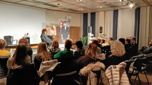 50 frisører fra hele Vendsyssel blev inspireret. Privatfoto