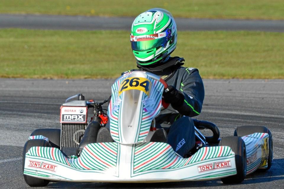Anden afdeling af Kart Cup Nord i Thy. Privatfoto