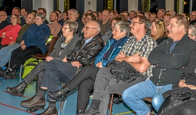 Der var smil på læberne af de mange tilskuere i Lanternen. Foto: Mogens Lynge Mogens Lynge