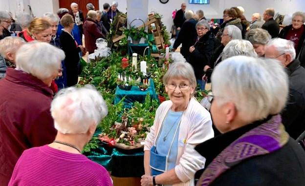 Udbuddet af juleting vil også i år være stort, når Biecentret i Hobro åbner for årets julebasar. Privatfoto