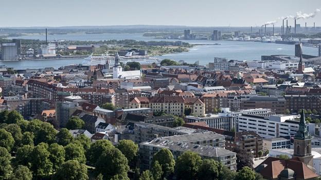 Aalborg er i stigende grad populær - også i udlandet. Arkivfoto: Nicolas Cho Meier
