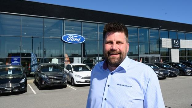 Thomas Brown er ny filialchef hos Brdr. Hosbond i Hjørring. Foto: Kurt Bering