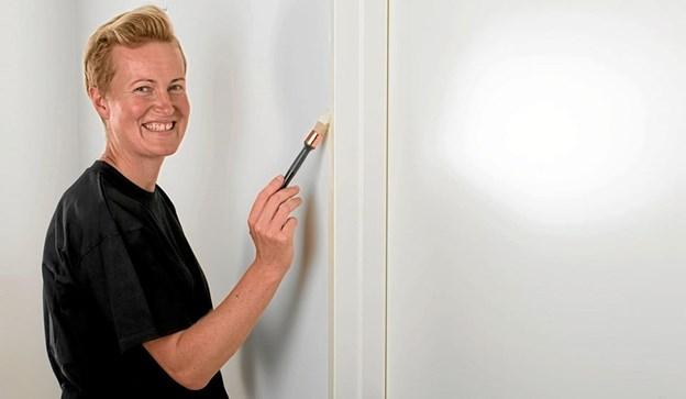 Dorte Kristensen er i finalen som Årets Maler. Arkivfoto