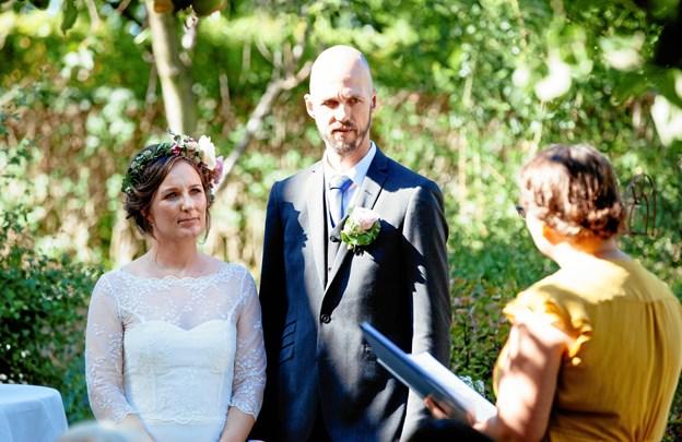 Den humanistiske bryllupsceremoni er en højtidelig markering af kærligheden på en ikke-religiøs måde, oplyser Humanistisk Samfund. Foto: Humanistisk Samfund