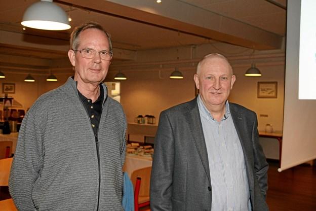 Carsten Christensen og Stig Berg Norsk fra ProFunding i Aalborg. Flemming Dahl Jensen