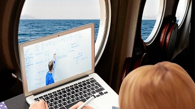 På MARTEC kan man uddanne sig til skibsmaskinist, samtidig med, at man passer et job.
