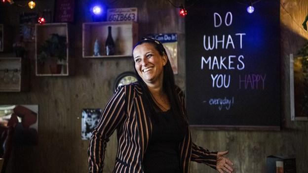 Bag kulisserne glæder Isabel Enevoldsen sig til at åbne dørene til Aalborg Street Food 5. april. Foto: Teis Markfoged