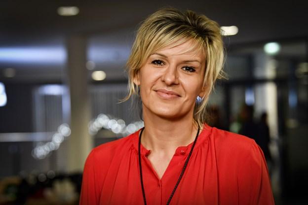 Bosætningskonsulent Almina Nikontovic fra Frederikshavn Kommune har succes med at fastholde udenlandsk arbejdskraft.