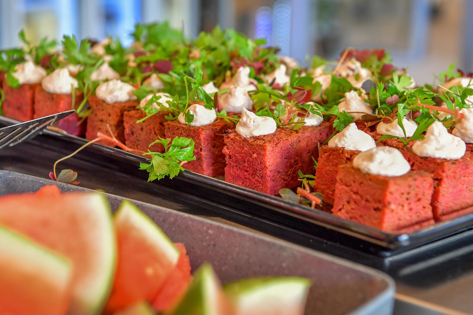 Udvalget af mad er udvidet siden tiden i Nørregade. Arkivfoto: Jesper Thomasen