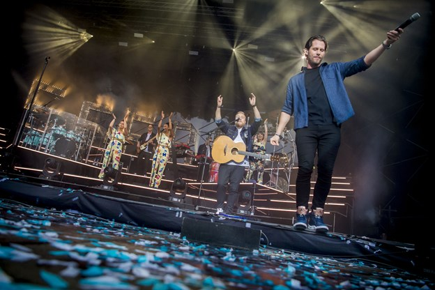 Seebach må gerne synge 2017 - når han indtager scenen på Knivholt. Arkivfoto: Martin Damgård