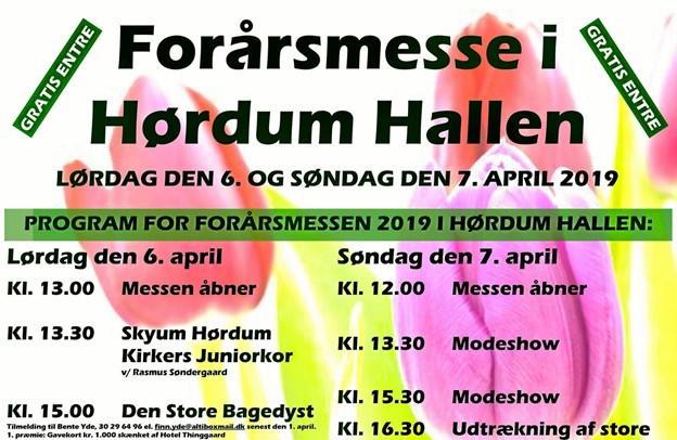 Konkurrencer, modeshow, Bagedyst, korsang og meget mere, når 35 stande er klar i Hørdum Hallen til Forårsmesse. Foto: Ole Iversen Ole Iversen
