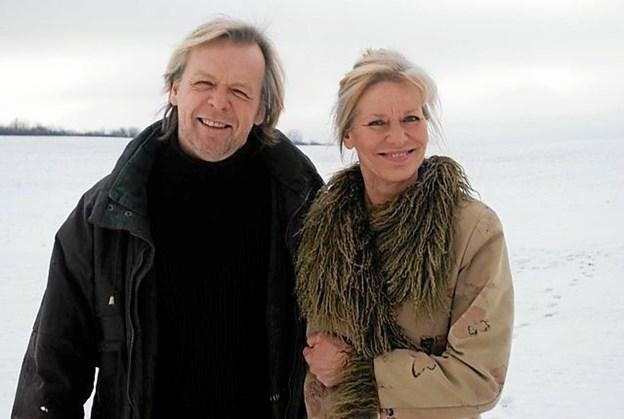 Michael Vesterskov og Marianne Mortensen kan opleves i Jelstrup kirke. Privatfoto