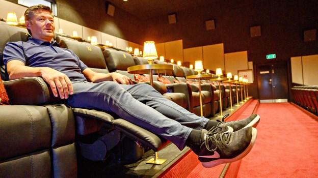 Ren nydelse - Stolen kan lægges tilbage, og både nakke- og fodstøtte kan indstilles.  Foto: Kurt Bering Kurt Bering