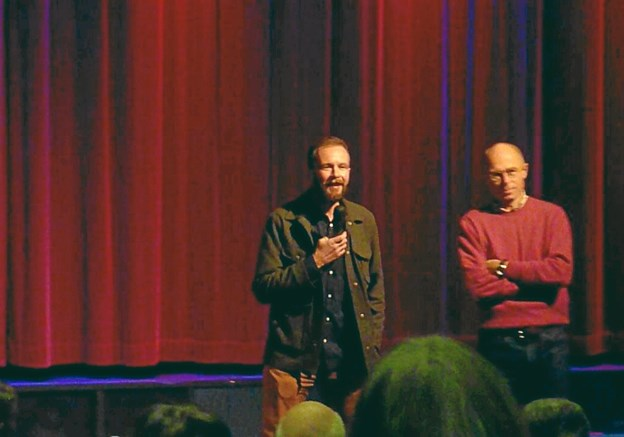 James Ewen fortalte om sin egen film, der handler om Oslos vilde natur. Det tog tre år at lave filmen.