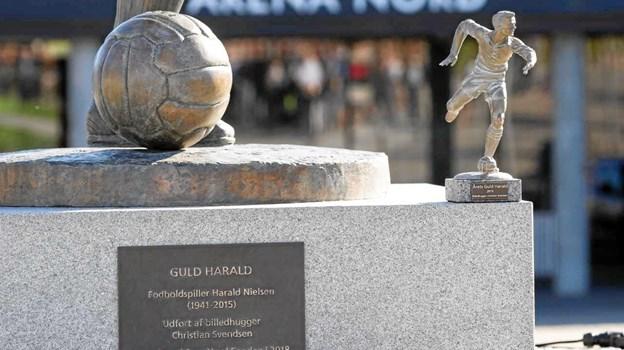 Årets Guld Harald er en flot ministatue i bronze. Foto: Michael Madsen Octo Media