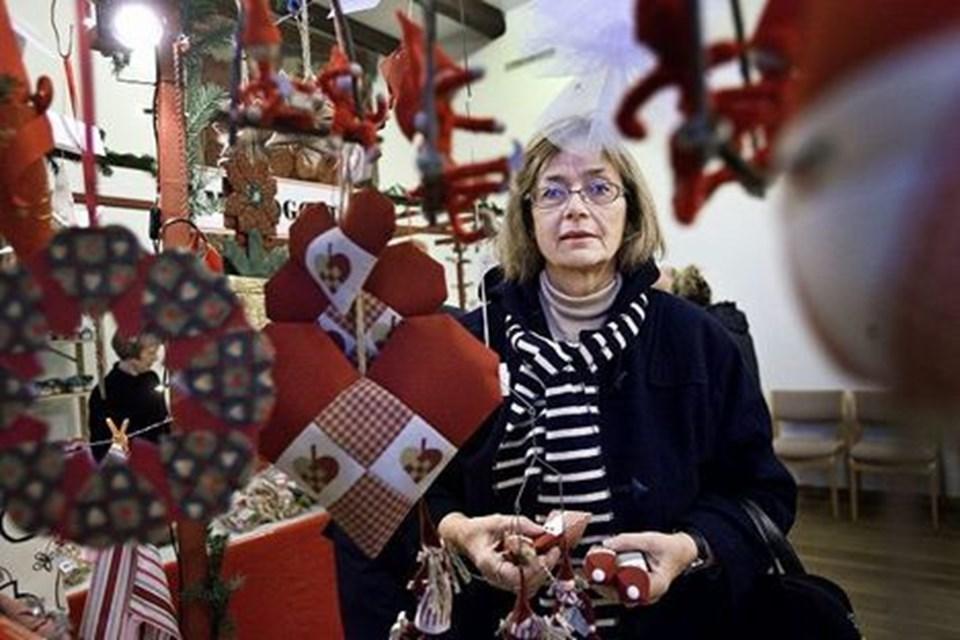 Markedet byder på julepynt, dekorationer og nisser i mange udforminger, men også en rundvisning på Slottet.foto: Lars pauli